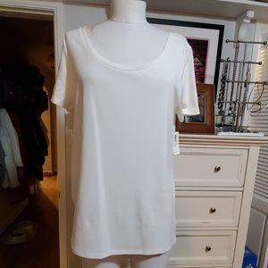 OLD NAVY WHITE CREW NECK TSHIRT XL NWT